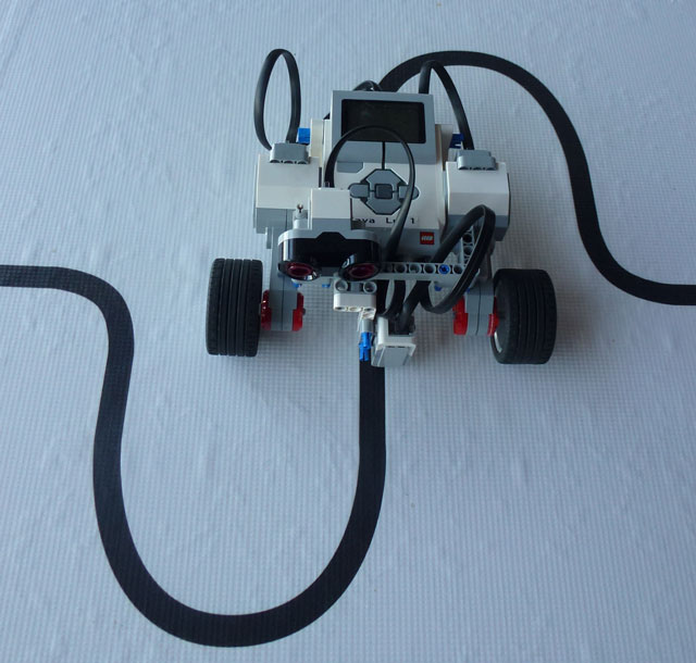 LEGO EV3 line follow tutorial DrGraeme.org